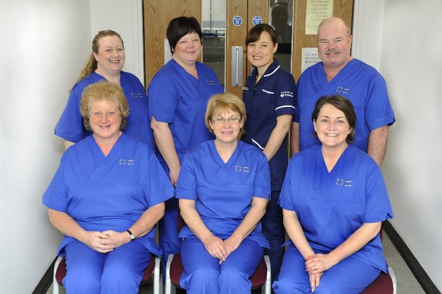 The Stoma Care team